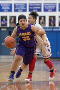 Girls Varsity Basketball @ Springfield, February 16th