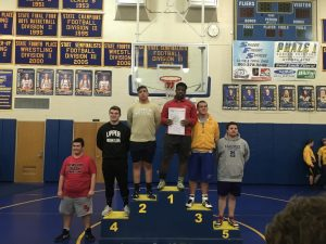 OHSAA Division II Sectional Placers – Wrestling