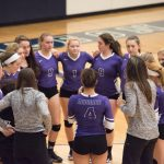 Maumee High School Girls Varsity Volleyball beat Napoleon High School 3-2