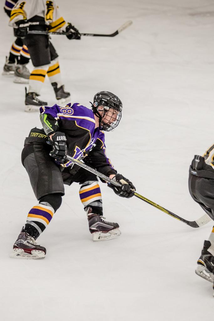 Maumee High School Boys Varsity Hockey falls to St. Francis DeSales High School-Toledo – 8-0