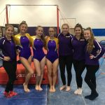 Girls Gymnastics finishes 3rd place vs. Patrick Henry and Northview