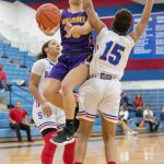 Girls Varsity Basketball falls to Springfield 55 – 45