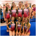 Varsity Gymnastics finishes 5th place at Tumble Towards a Cure