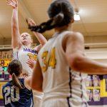 Girls Varsity Basketball falls to Napoleon 38 – 36