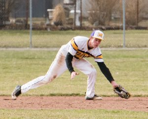Varsity Baseball vs. Whitmer, April 2nd