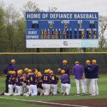 Varsity Baseball beats Defiance – Advance to DII District Semifinals