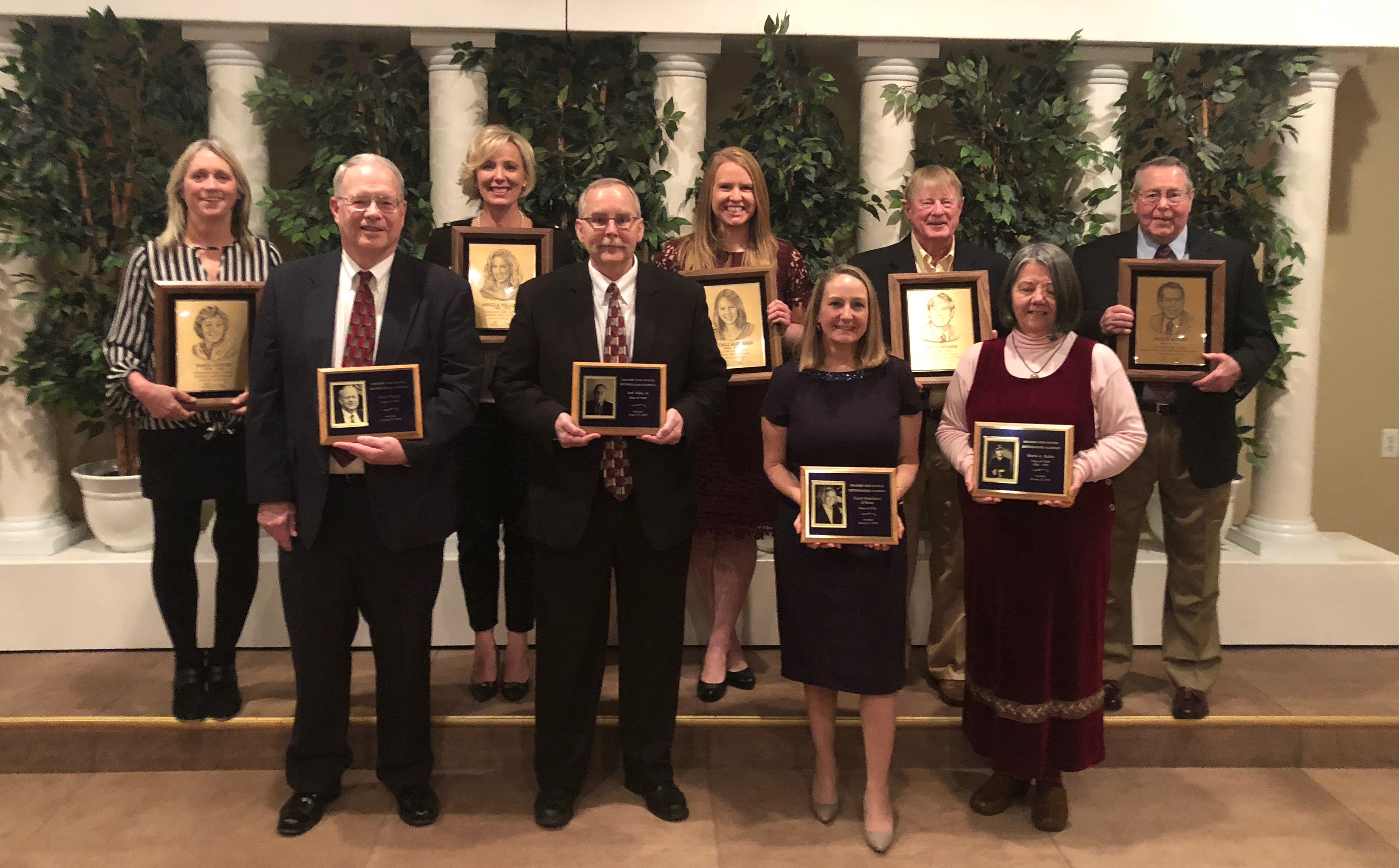 2019 Athletic Hall of Fame and Distinguished Alumni Ceremony