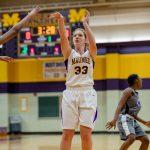 Girls Freshman Basketball beats Woodward 84 – 25