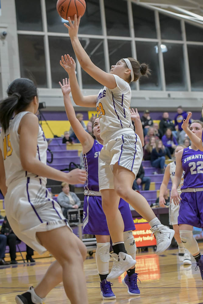 Girls Varsity Basketball beats Swanton 57 – 54 in OT