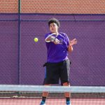 Boys Varsity Tennis falls to Bay 5 – 0