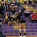 Volleyball Tops Evergreen 3 – 0