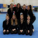Varsity Gymnastics finishes 2nd place against Holgate, Liberty Center and Tinora