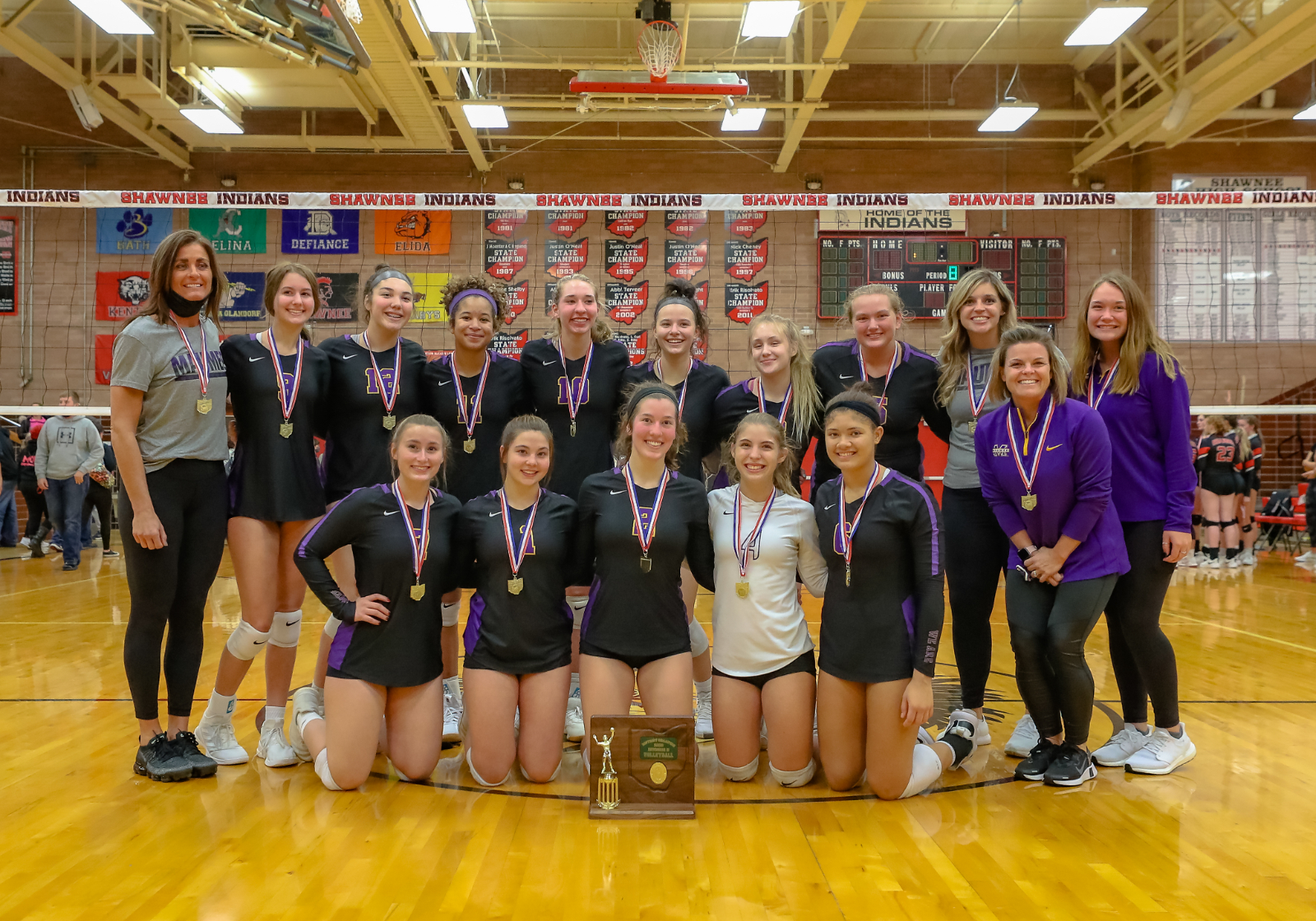Panthers Volleyball Season Ends in Regional Tournament