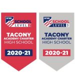 The Philadelphia Public League school at the foot of the Tacony-Palmyra Bridge in the Northeast section of the city in late May became the first high school in the nation to earn Level 2 and Level 3 status in the Schools Honor Roll program. The program was recently initiated by the National Federation of State High School Associations (NFHS).