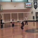 Girls Volleyball Tunes Up for the Regular Season