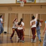 Defense Dominates as the JV Girls Defeat Kushner in Opening Round of MYHSAL Playoffs