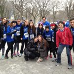 Frigid and Fun Start for Flatbush Track at the HODS 5K Race in Central Park