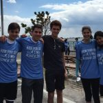Flatbush Track Athletes Run For IDF; Celebrate 67th Yom Haatzmaut