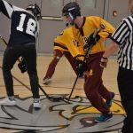 "JV Boys Open ""Hockey"" Gym in Style"
