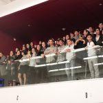 Varsity Hockey, Flatbush Fans Rock the Aux Nest!