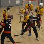 Rough End to Regular Season for Varsity Hockey on Senior Night