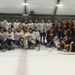 Falcons Gain Experience in First Game On Ice