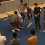 Wrestlers Hit the Mats for First Team Practice