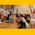 Boys & Girls Hoops Teams Survive; Win Varsity Battle of the Birds