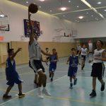 8th Grade Boys Swish Often in Sderot Tourny Opening Round Win
