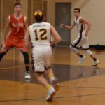 Falcon Boys on Opposite Ends of Final Scores in JV/V Doubleheader