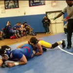 Wrestling Grapples Hard in Final Flatbush Contest of 2017
