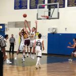 Tough Battle Ends in Loss for Varsity Falcons