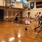 Classic Comeback Keeps Varsity Playoff Hopes Alive; JV's Fall in Final Game of Season