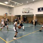 Press Break Keys Runaway Win for 8th Grade Boys Basketball