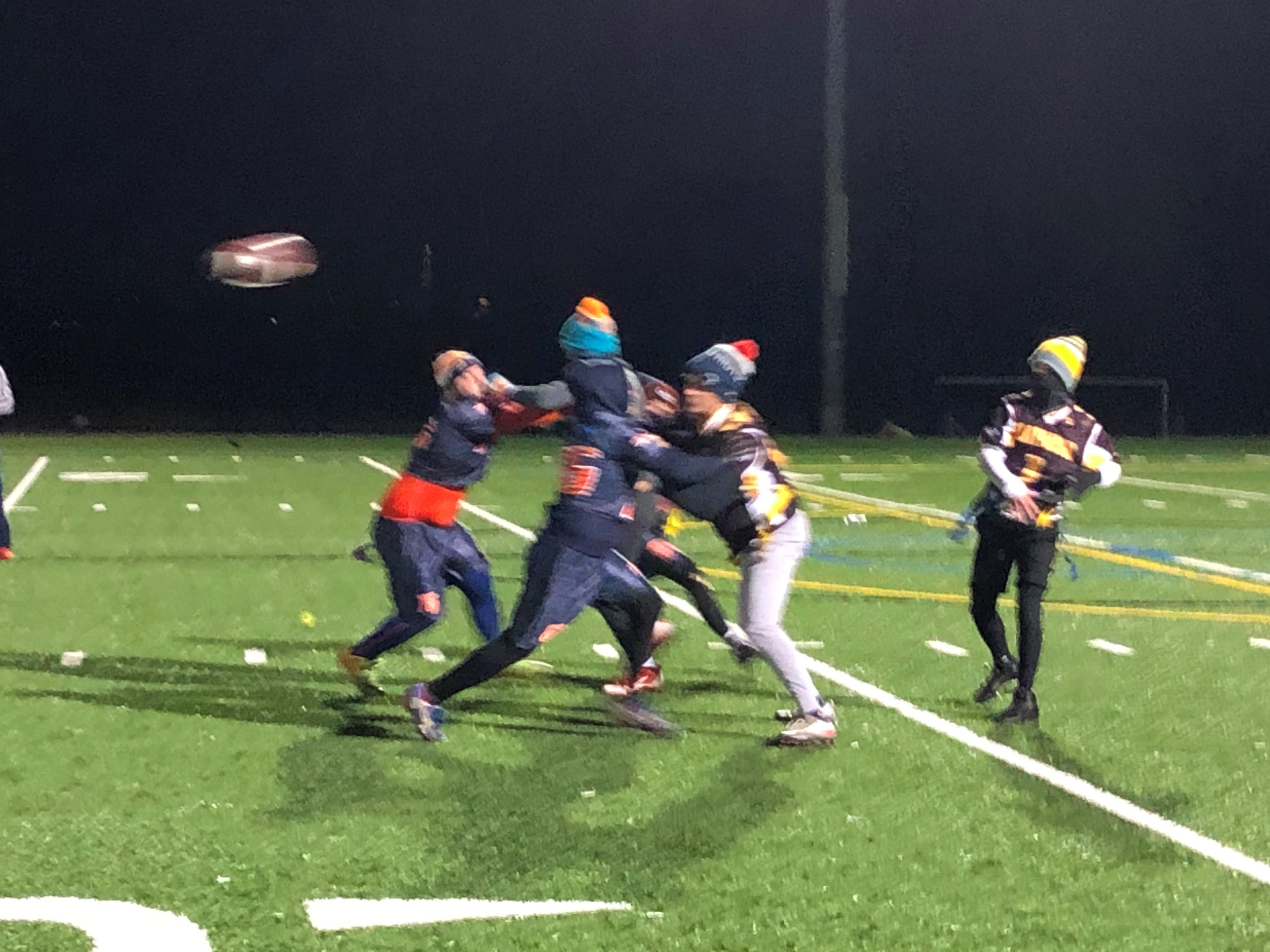 Season Ends in Frigid First Round of the Playoffs