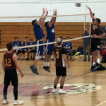 Volleyball Falcons Win Big in First Ever Playoff Appearance