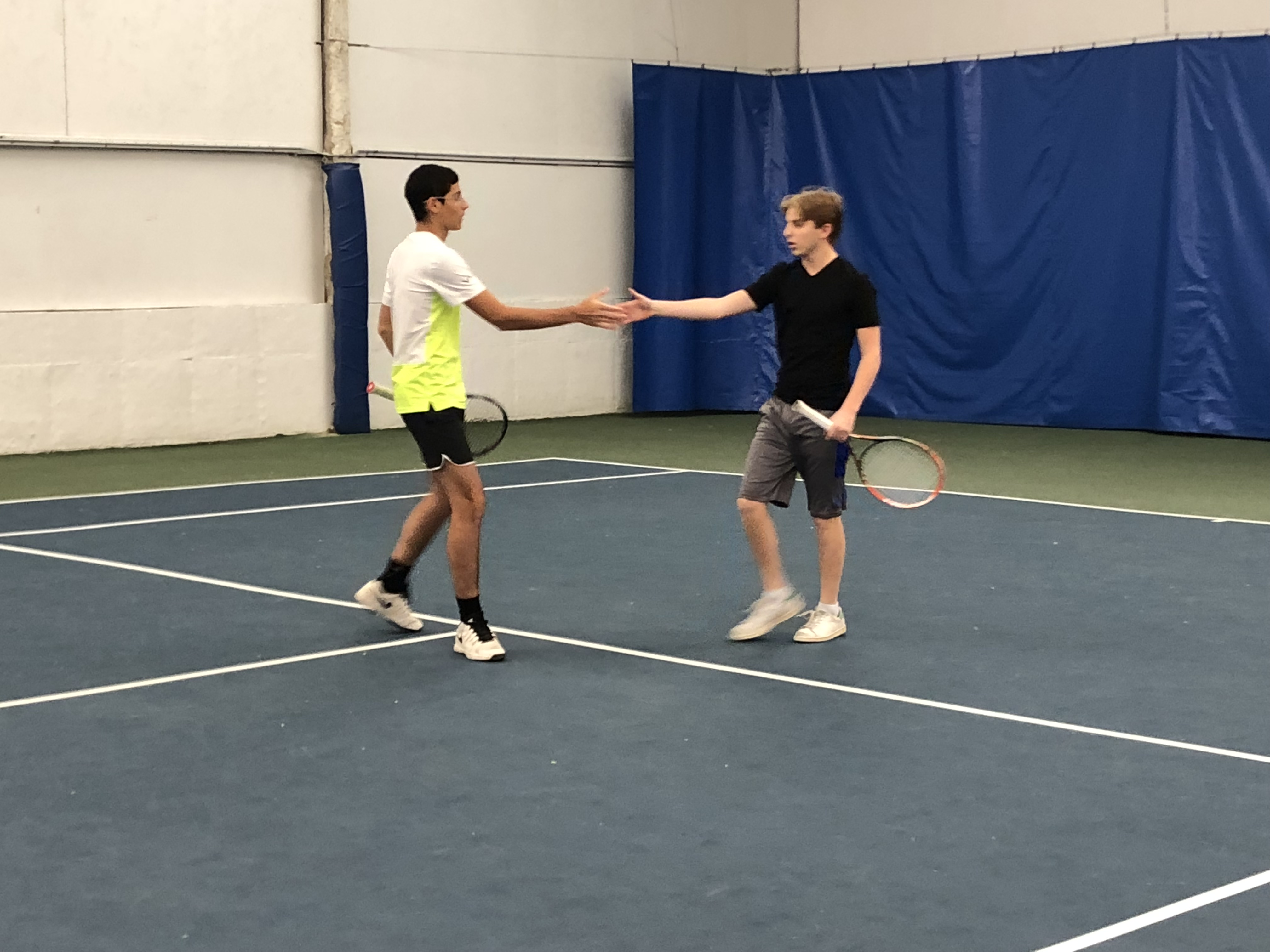 Fantastic Finishes Boost B & G Tennis into MYHSAL Playoffs