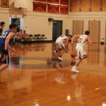 Varsity Boys Secure Decisive Hoops Win