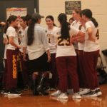 Girls Basketball Gains Split in Queens