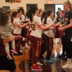 Boys & Girls Basketball Welcome Visitors from Down Under for Hoops and Chanukah Lights