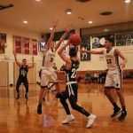 Falcons Boys Hoopsters Split Down-to-the-Wire Contests