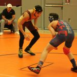 Wrestling Holds First-Ever Home Match