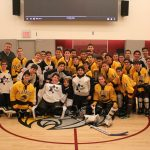 Boys MD Hockey Teams Join Together in Chesed; Falcons Top Rival in Final Game of Regular Season