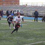 Varsity Football Has Eventful Day; Extend and End Season on MFL Playoff Sunday