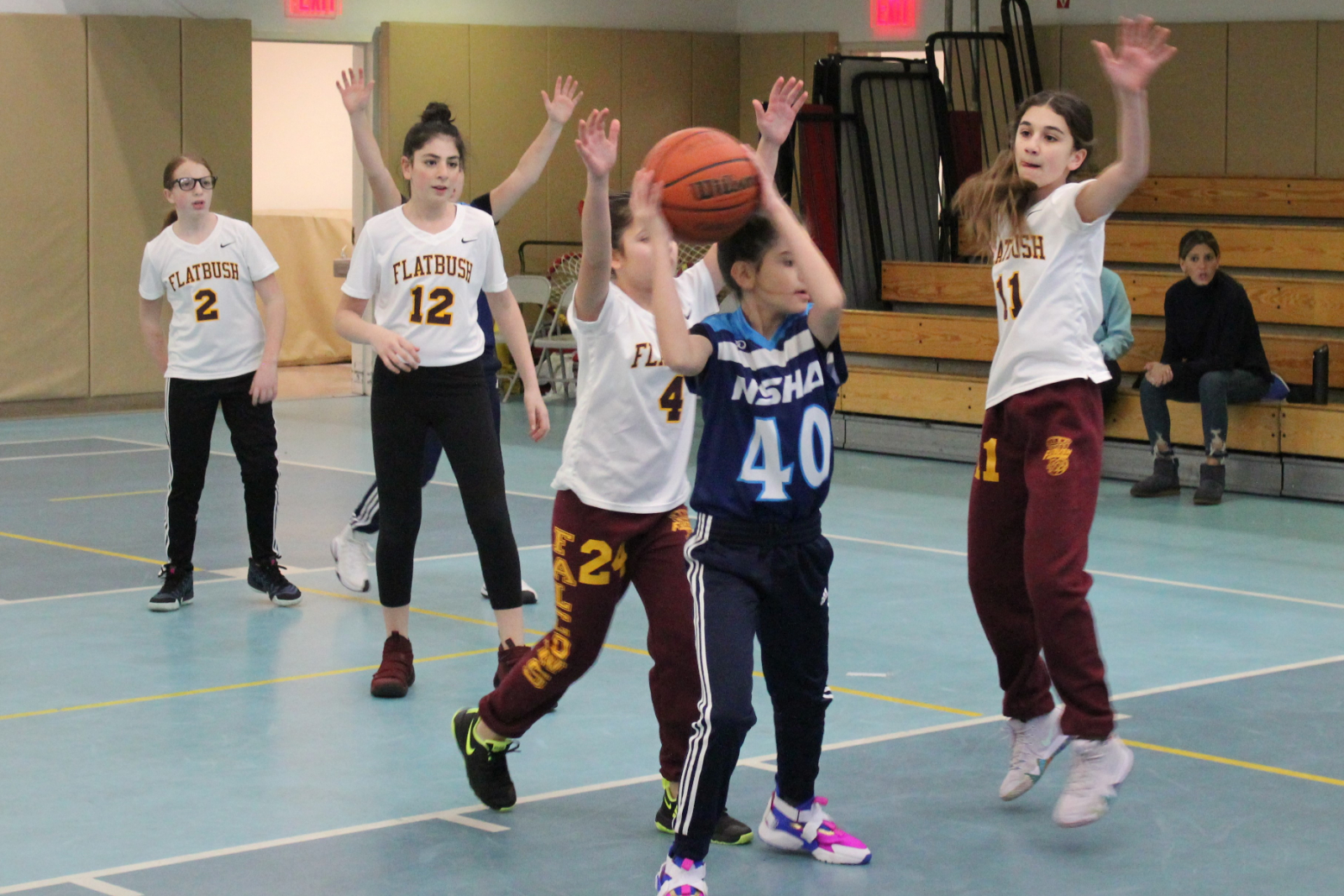 Tough Day for Girls/Boys 6th Grade Basketball Teams