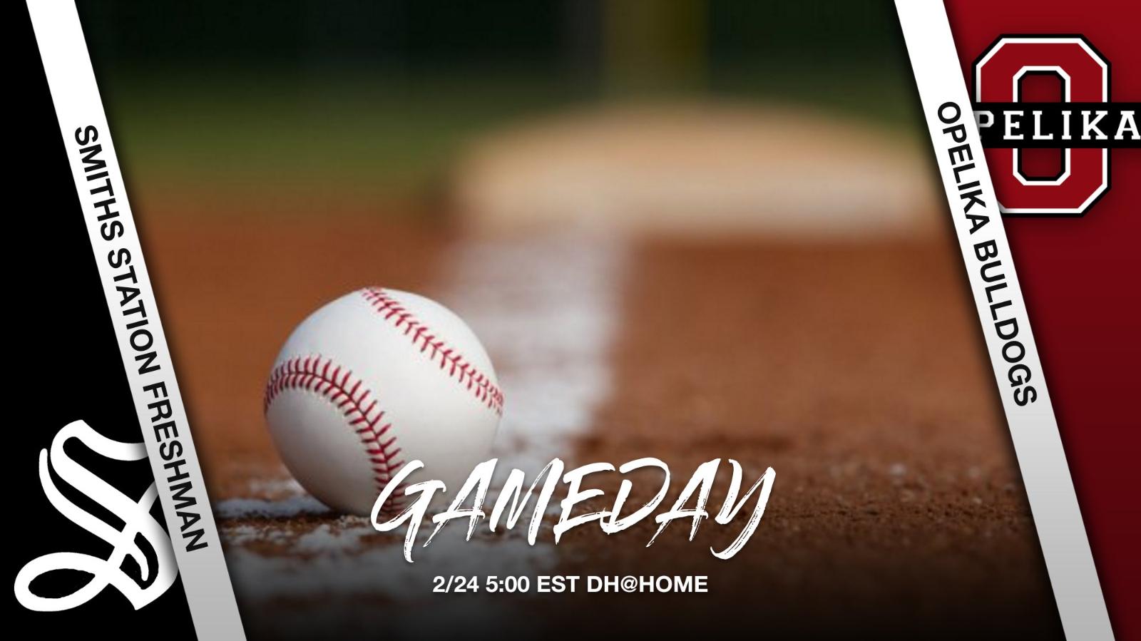 Make today a BIG HIT Freshman Baseball!!!