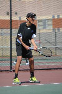 Boys Tennis vs. Blair, 4/18/15