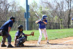 Varsity Baseball vs. Magruder, 4/18/15