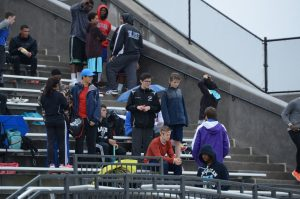 Track & Field vs. Sherwood and Gaithersburg, 4/14/15