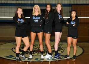 Varsity Girls Volleyball Seniors